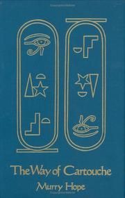 Cover of: The way of cartouche