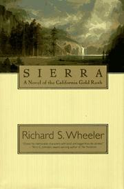 Cover of: Sierra: a novel of the California gold rush