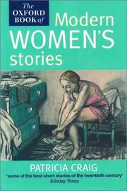 Cover of: The Oxford book of modern women