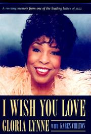 Cover of: I wish you love