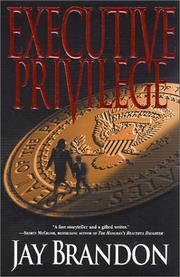 Cover of: Executive privilege