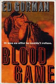 Cover of: Blood game