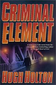 Cover of: Criminal element