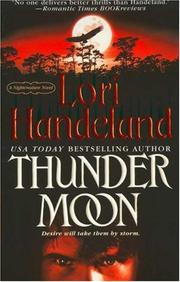 Cover of: Thunder Moon (A Nightcreature Novel, Book 8)