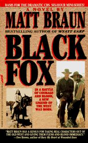 Cover of: Black Fox (TV Movie Tie in)