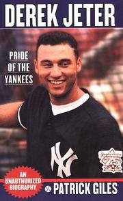 Cover of: Derek Jeter