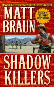 Cover of: Shadow Killers