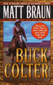 Cover of: Buck Colter