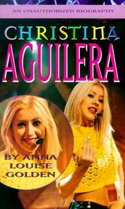 Cover of: Christina Aguilera