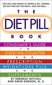 Cover of: The diet pill guide