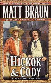 Cover of: Hickok & Cody