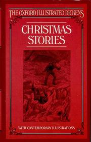 Cover of: Christmas Stories (New Oxford Illustrated Dickens) | Charles Dickens