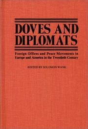 Cover of: Doves and Diplomats