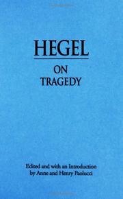 Cover of: The philosophy of Hegel