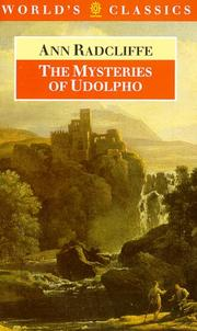 Cover of: Mysteries of Udolpho (Oxford English Novels)