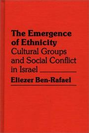 Cover of: The emergence of ethnicity