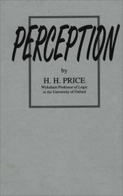 Perception by Price, H. H.