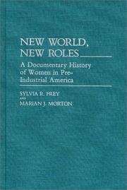 Cover of: New world, new roles