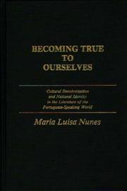 Cover of: Becoming true to ourselves
