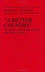 "Cover of: ""A better country"""
