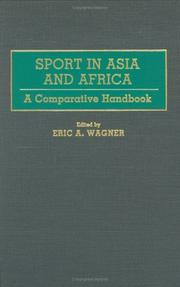 Cover of: Sport in Asia and Africa |