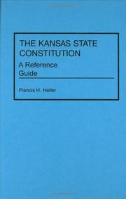 Cover of: The Kansas state constitution