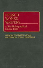 Cover of: French Women Writers |