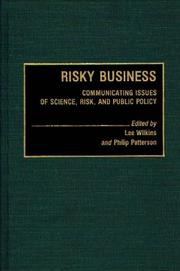 Cover of: Risky business |