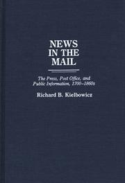 News in the mail by Richard Burket Kielbowicz