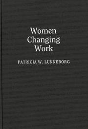 Cover of: Women changing work