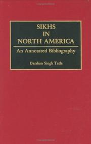 Cover of: Sikhs in North America