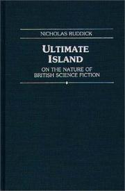 Cover of: Ultimate island | Nicholas Ruddick