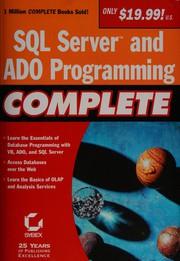 SQL server programming complete.