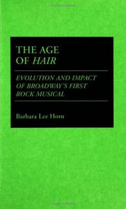 Cover of: The age of Hair