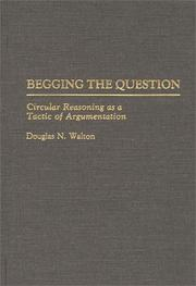 Cover of: Begging the question