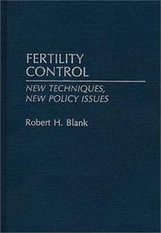 Cover of: Fertility control