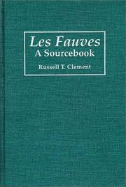 Cover of: Les fauves