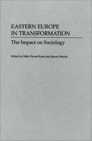 Cover of: Eastern Europe in Transformation |