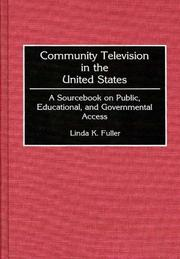 Cover of: Community television in the United States