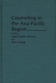 Counseling in the Asia-Pacific Region by