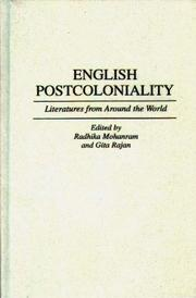 English Postcoloniality: Literatures from Around the World