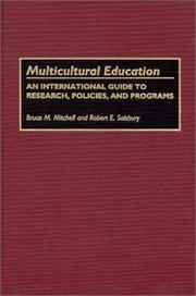 Cover of: Multicultural education