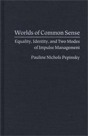 Cover of: Worlds of common sense | Pauline Nichols Pepinsky