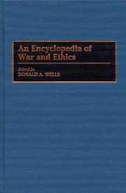 An encyclopedia of war and ethics
