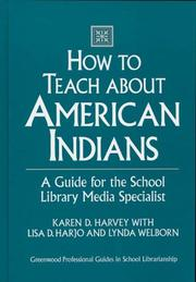 Cover of: How to teach about American Indians