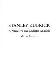 Cover of: Stanley Kubrick | Mario Falsetto