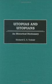 Cover of: Utopias and Utopians