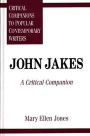 Cover of: John Jakes