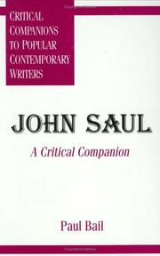Cover of: John Saul