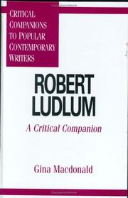 Cover of: Robert Ludlum | Gina Macdonald